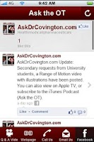 Screenshot of Ask the OT