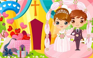 Screenshot of Design Wedding Party