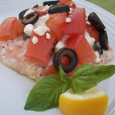 Greek-Style Baked Salmon
