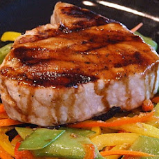 Teriyaki Tuna with Ginger Vegetables