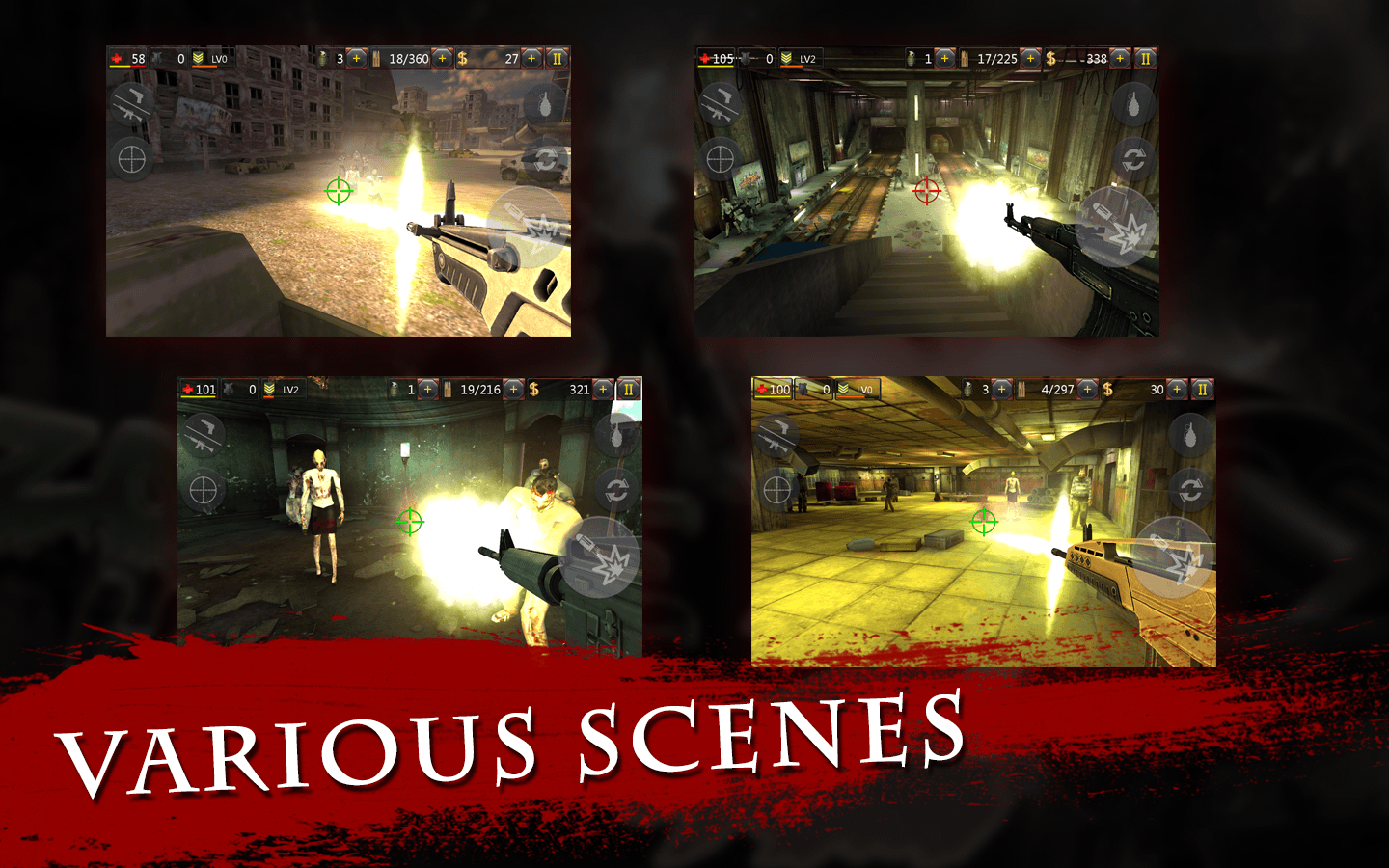 Zombie Hell 2 - FPS Shooting Screenshot 2