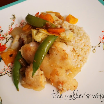Coconut and Orange Chicken Stir Fry