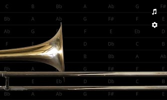 Screenshot of iBone - the Pocket Trombone™
