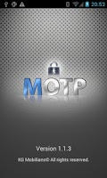 Screenshot of MOTP-Mobilians
