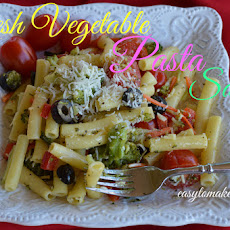 Fresh Vegetable Pasta Salad