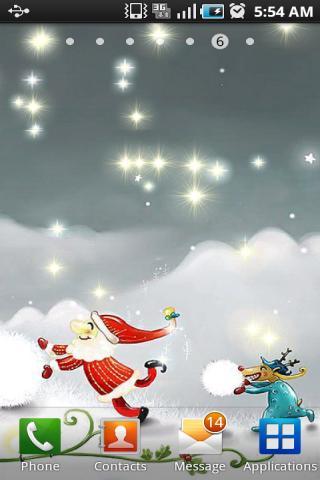 星光闪烁梦幻动态壁纸XII