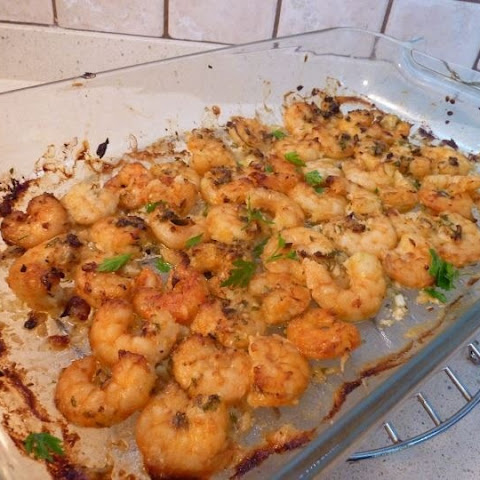 Tasty Lemon Garlic Prawns