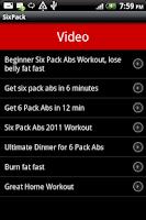 Screenshot of SixPack
