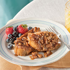 Praline-Pecan French Toast