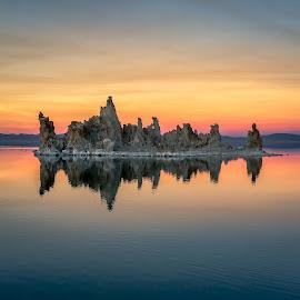 Mono Lake Sunset by David Long - Instagram & Mobile iPhone ( mono lake, sunset, tufas )