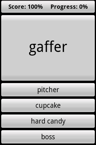 British Vocabulary Quiz