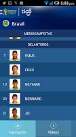 Screenshot of Tigo Copa Mundial FIFA 2014™
