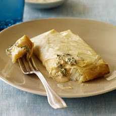 Spicy Halibut Baked in Phyllo