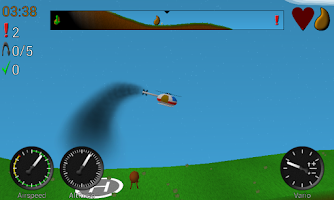 Screenshot of Rescue Pilot
