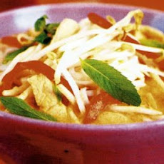 Chicken Laksa (Low Fat and Delicious)