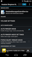 Screenshot of Headset Ringtone Manager Lite