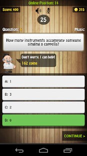 Trivial Master Quiz - screenshot