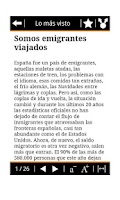 Screenshot of RSS El País