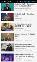 Screenshot of Zakir Naik