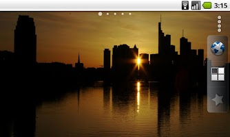 Screenshot of Frankfurt City Live Wallpaper