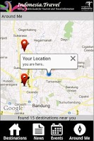 Screenshot of Indotravel Mobile 2014
