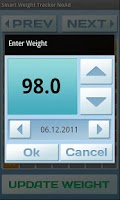 Screenshot of Smart Weight Tracker Ad Free