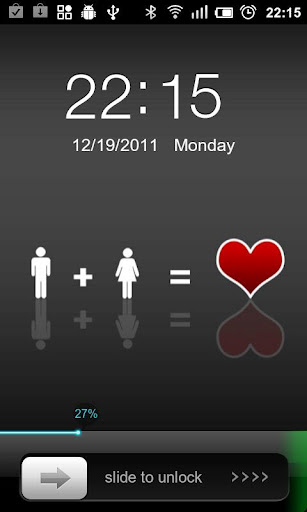 Love Iphone GO Locker Themes