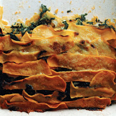Butternut Squash and Creamed-Spinach Gratin
