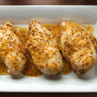 Orange-Honey-Mustard Baked Chicken Breasts
