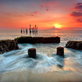 Pesona Senja by Hendra Gunawan - Landscapes Sunsets & Sunrises