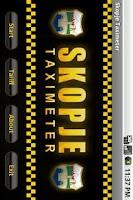 Screenshot of Skopje Taximeter