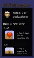 Screenshot of MathJumper