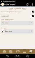 Screenshot of Fazilet Takvimi