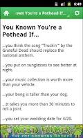 Screenshot of Marijuana Jokes