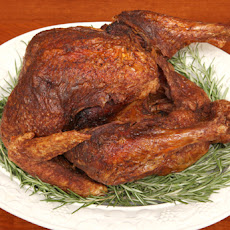 Deep-Fried Turkey with Herbs