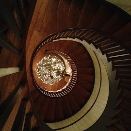 Spiral Staircase by Jeff Sluder - Instagram & Mobile iPhone ( spiral staircase )