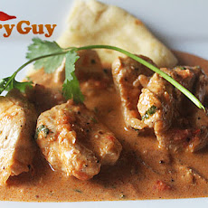 Chicken Curry With Curry Leaves, Coconut Milk and Spices