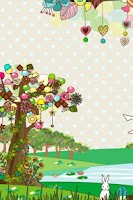 Screenshot of sweet tree LiveWallpaper