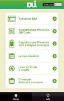 Screenshot of DUI Mobile