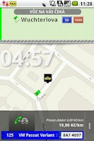 Screenshot of AAA taxi - cab order