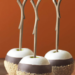 Triple Dipped S'Mores Apples