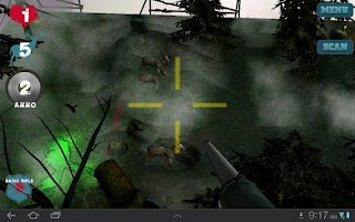 Screenshot of Zombie Deer Hunt 3D