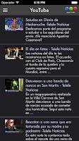 Screenshot of Telefe Noticias