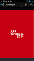 Screenshot of Guía apps turísticas. 2014