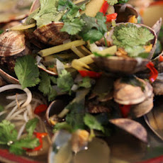 Spicy Clam Noodle Soup
