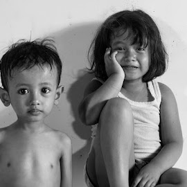 Brother n Sister by Erwan Setyawan - Babies & Children Child Portraits