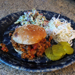 Pork Barbecue Sloppy Joe Sandwiches