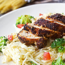 Blackened Chicken Pasta