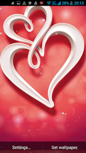 Love Heart Live Wallpaper - screenshot