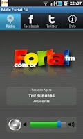 Screenshot of Radio Fortal FM